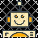 Friendly Robot Future Icon