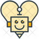 Robot Love Feeling Icon