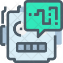 Robot Chat Message Icon
