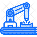 Robot Production Factory Icon