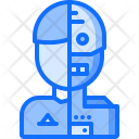 Robot Human Android Icon