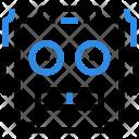 Robot Face Technology Icon