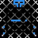 Robot Wheel Transport Icon