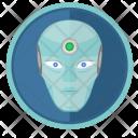 Round Skin Face Icon