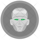Head Robot Face Icon