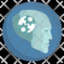 Robot Head Think Icon