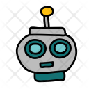 Robot Head Device Icon
