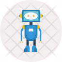 Robot Android Concept Icon