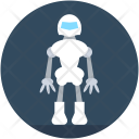 Robot Monster Character Icon