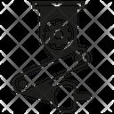 Robotic Robot Machine Icon
