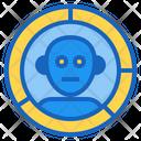 Robot Analysis Icon