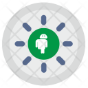 Robot Android Load Icon