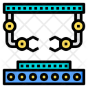 Robot Arm Artificial Intelligence Icon