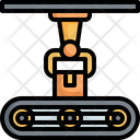 Robot Arm Mechanical Icon
