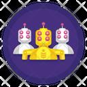 Robot Army Icon