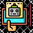 Robot Art Icon