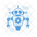 Robot Assistant Robot Helper Exoskeleton Icon