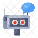 Robot Assistant Chatting Robot Robotic Services Icon