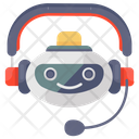 Robot Assistant Robot Bionic Man Icon