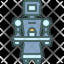 Server Assistant Robotic Icon