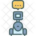 Assistant Chat Talk Icon