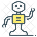 Robot Assistants Icon