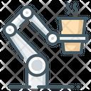 Robot Barista Icon