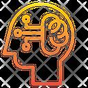 Robot Brain Brain Processor Brain Icon