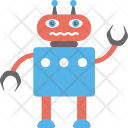 Robot Character Icon