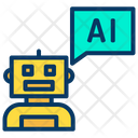 Artificial Conversational Entity Bot Chat Bot Icon