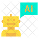 Robot Chat Icon