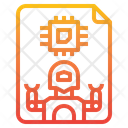 Robot Chip Icon