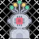 Robot Bionic Man Exoskeleton Icon