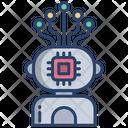 Robot Chip Robot Robotic Icon