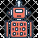 Robot Code Icon