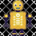 Robot Configuration Bionic Man Humanoid Icon