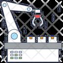 Robot Conveyor Icon