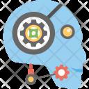 Robot Customer Service Icon