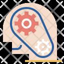 Professional Robotic Head Icon