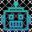 Face Robo Face Robot Icon