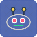 Robot Face Robotic Icon
