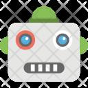Robot Face Emoji Icon