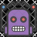 Robot Face Smiley Emoji Emoticon Icon