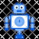 Robot Gauge Bionic Man Humanoid Icon