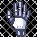 Robot Technology Hand Icon