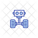 Robot Head Industrial Robot Arm Robot Icon
