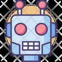 Robot Head Robotic Head Head Icon