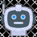 Robot Head Robot Bionic Person Icon
