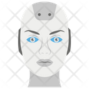 Robot Head Robot Face Artificial Intelligence Icon