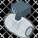 Robot Home Monitoring Icon